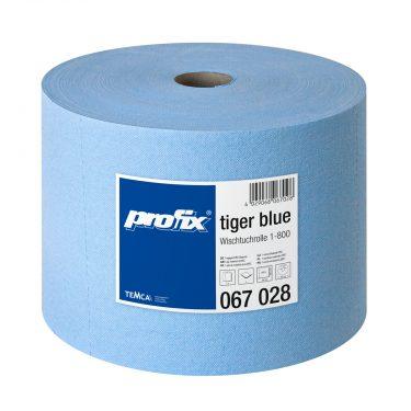 profix tiger blue Wischtuchrolle