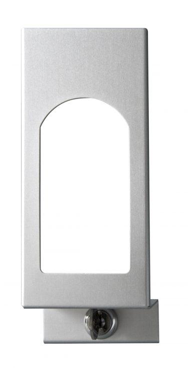 TEMDEX Frontblende mit Sichtfenster für 500 ml Desinfektionsmittel- und Seifenspender