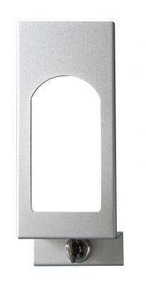 TEMDEX Frontblende mit Sichtfenster für 1.000 ml Desinfektionsmittel- und Seifenspender
