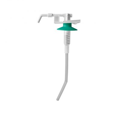 TEMDEX Universalpumpe Kunststoff, 1.000 ml, kurzer Armhebel