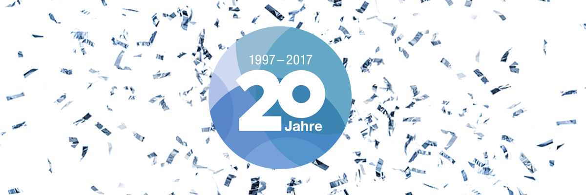 20 Jahre Firmenjubiläum