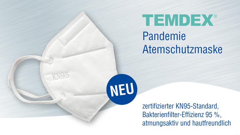 Anzeige Pandemiemaske